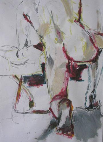 Zeichnungen und Malerei